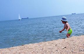 Преимущества отдыха с детьми на Азовском море