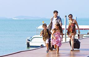 Как правильно организовать семейный отдых на море